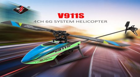 WLtoys V911S 2.4G 4CH RC Helicopter