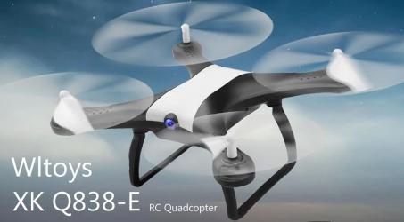 WLtoys XK Q838-E Wifi FPV RC Drone