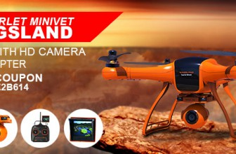 $379.99 Buy Wingsland Scarlet Minivet RC Quadcopter Use Coupon Code