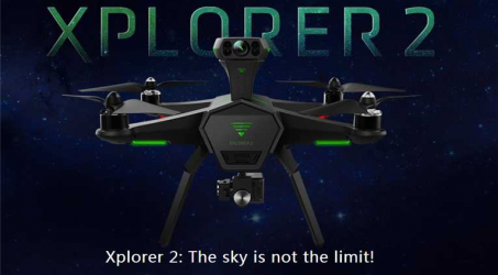 IRO XPLORER 2 FPV With 3Axis Gimbal 4K Camera