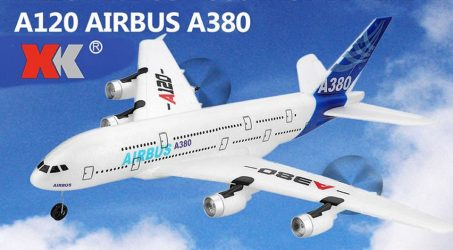 Wltoys XK A120 Airbus A380 Model RC Airplane