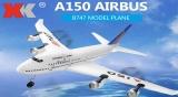 XK A150 Airbus B747 Model Plane RC Airplane
