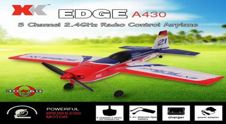 XK A430 2.4G 5CH RC Airplane RTF