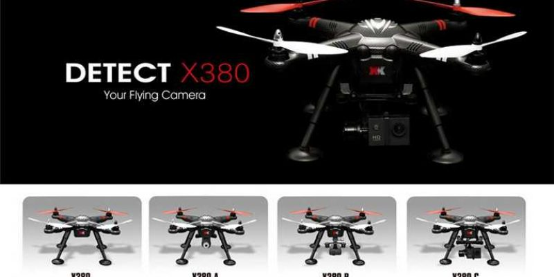 XK DETECT X380 Flying Video