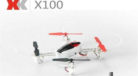 XK X100 Quadcopter With 3D 6G Mode Inverted Flight