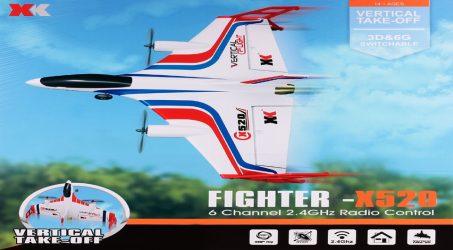 XK X520 2.4G 6CH RC Airplane