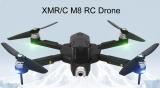 XMR/C M8 5G WIFI FPV GPS Brushless Foldable RC Drone