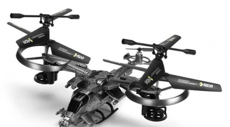 YD-718 2.4GHz 4 Channels Infrared RC Helicopter Drone