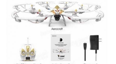Yi Zhan i7H WIFI FPV With 720P Camera & 1080P Camera RC Hexacopter
