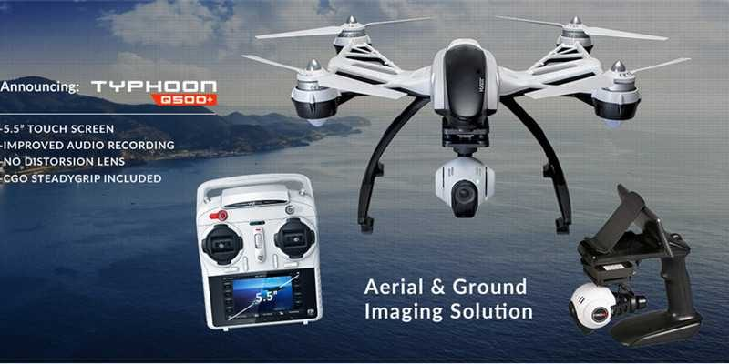 Yuneec Typhoon Q500/Q500+ FPV Drone