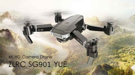 ZLRC SG901 YUE 4K 5G WIFI Foldable RC Drone