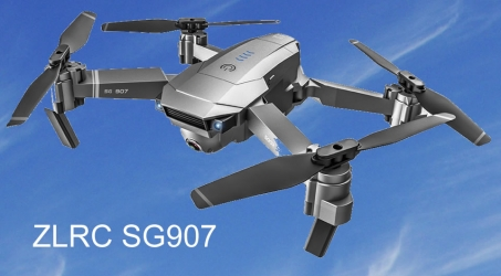 ZLRC SG907 4K 5G WIFI FPV GPS Foldable RC Drone