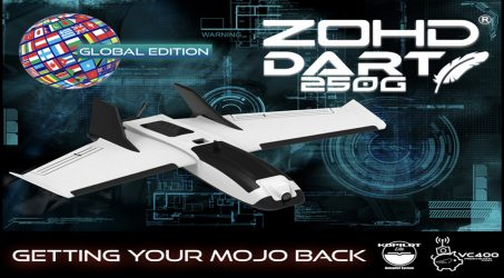 ZOHD Dart 250G FPV RC Airplane – FPV Version