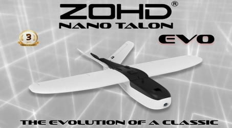 ZOHD Nano Talon EVO AIO V-Tail EPP FPV Wing RC Airplane