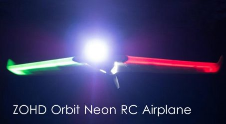 ZOHD Orbit Neon FPV Night Flying RC Airplane