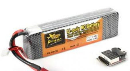 ZOP Power 11.1V 5500mAh 3S 45C Lipo Battery