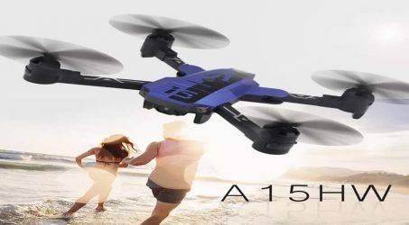 AISO A15HW RC Quadcopter RTF – Blue