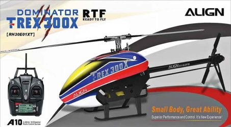 Align T-Rex 300X DOMINATOR RC Helicopter