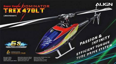 ALIGN T-REX 470LT RC Helicopter