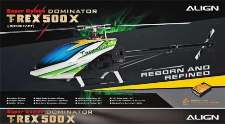 ALIGN T-REX 500X Dominator RC Helicopter