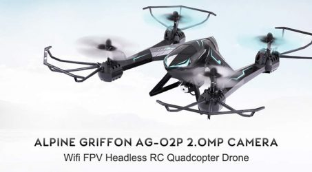 Alpine Griffon AG-02P RC Quadcopter