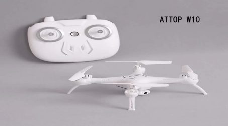 ATTOP W10 2.4G RC Quadcopter