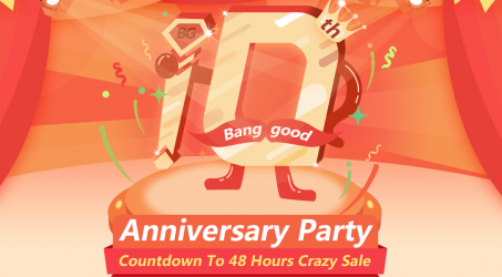 Focus on Banggood 10th  Anniversary Party  : Sept 8th ~ Sept 10th