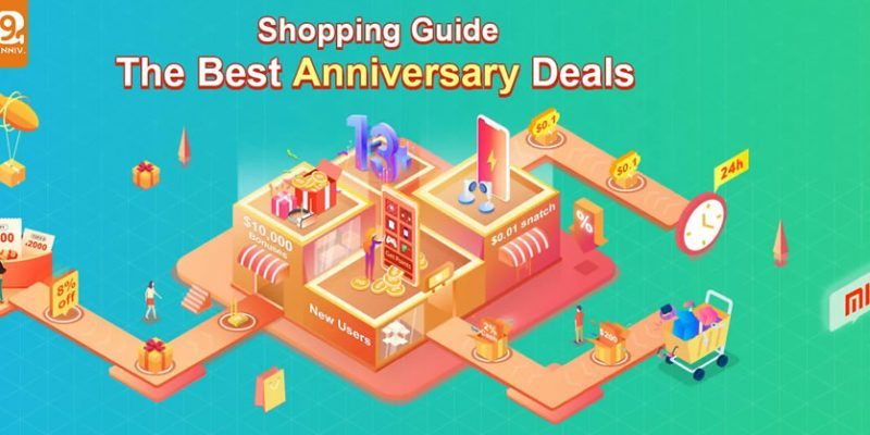 Banggood 13th Anniversary Sale Shopping Guide -9.9