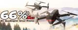66% OFF Max Banggood RC Quadcopter Great Promo