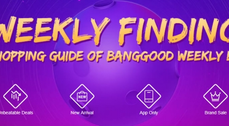 The Shopping Guide of Banggood Weekly Events
