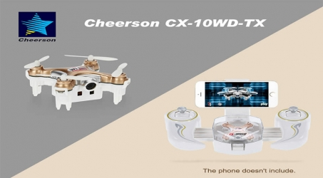 Cheerson CX-10WD-TX RC Quadcopter