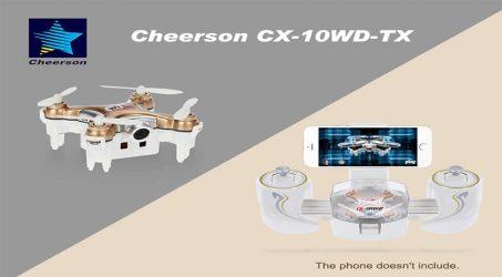 Cheerson CX-10WD-TX RC Quadcopter