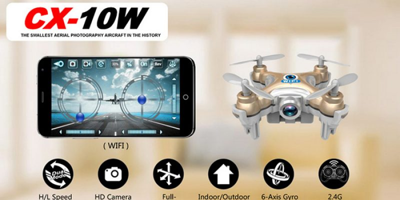 Cheerson CX – 10W Quadcopter Gearbest Video