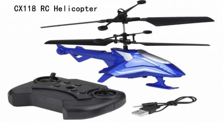 CX118 RC Helicopter – Blue