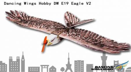 Dancing Wings Hobby DW E19 Eagle V2 RC Airplane