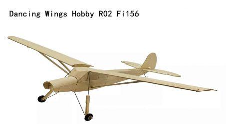 Dancing Wings Hobby R02 Fi156 RC Airplane