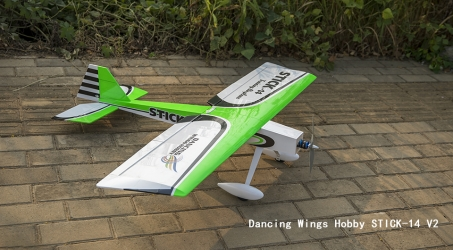 Dancing Wings Hobby STICK-14 V2 RC Airplane
