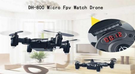 DH-800 Micro Fpv Watch Drone