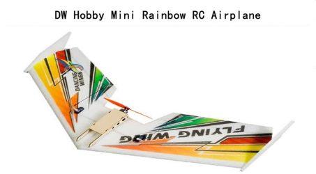 DW Hobby Mini Rainbow RC Airplane