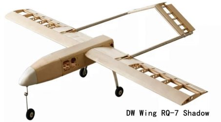 DW Wing RQ-7 Shadow RC Airplane