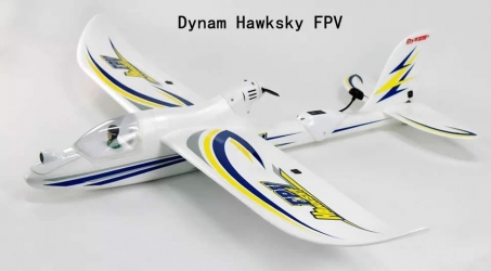 Dynam Hawksky FPV RC Airplane