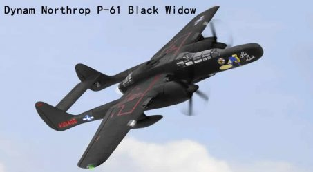 Dynam Northrop P-61 Black Widow RC Airplane PNP