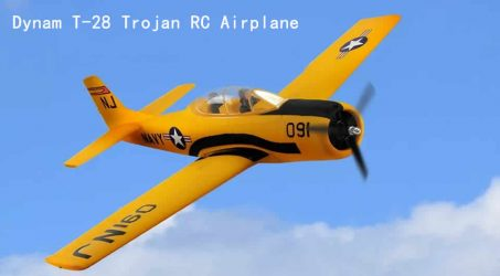 Dynam T-28 Trojan RC Airplane