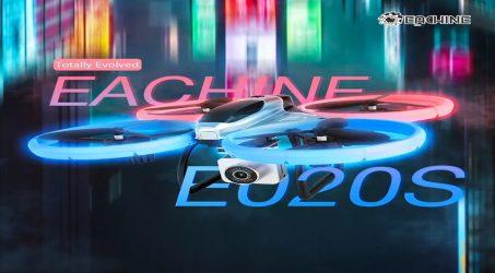 Eachine E020S RC Quadcopter RTF – One Battery