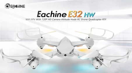 Eachine E32HW RC Quadcopter