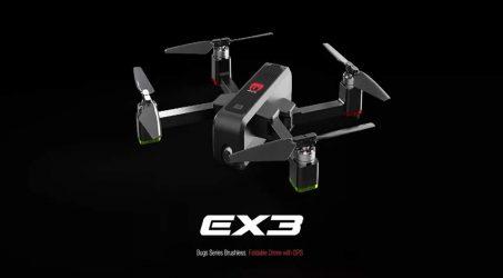 Eachine EX3 GPS 5G WiFi FPV RC Quadcopter RTF