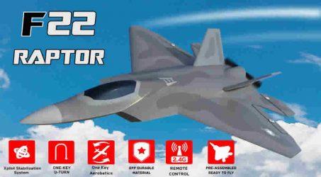 Eachine F22 Raptor RC Airplane