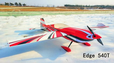 Edge 540T RC Airplane Kit- Red