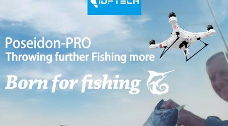 IDEAFLY Poseidon Pro GPS Positioning 850m 5G WiFi Transmission Fishing Drone