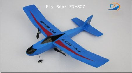 Fly Bear FX-807 RC Airplane RTF – Blue
